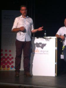 Axel, Google Analytics auf der koks.digital 2016