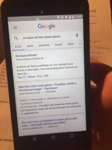 Google mit Aggregatoren und Phrase-Matches