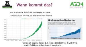IPv6, es ist schon hier