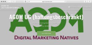 Agom-Google MyBusiness-Webpage