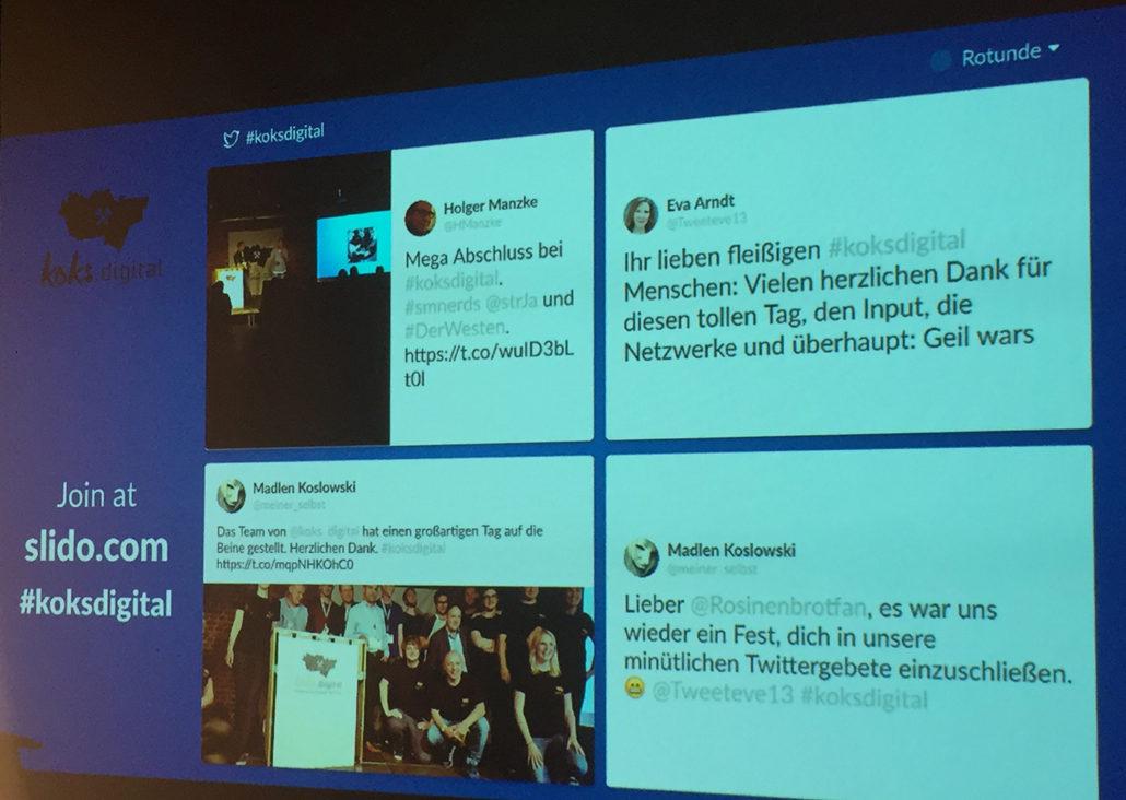 koksdigital-2017-twitterwall-slido