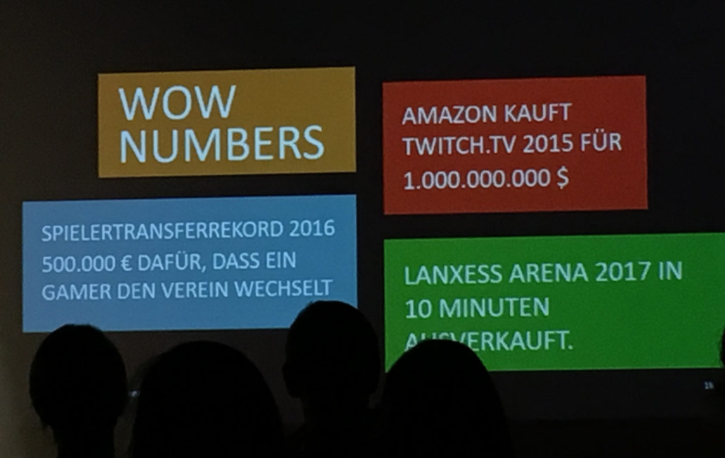 koks.digital esports Vortrag wow numbers