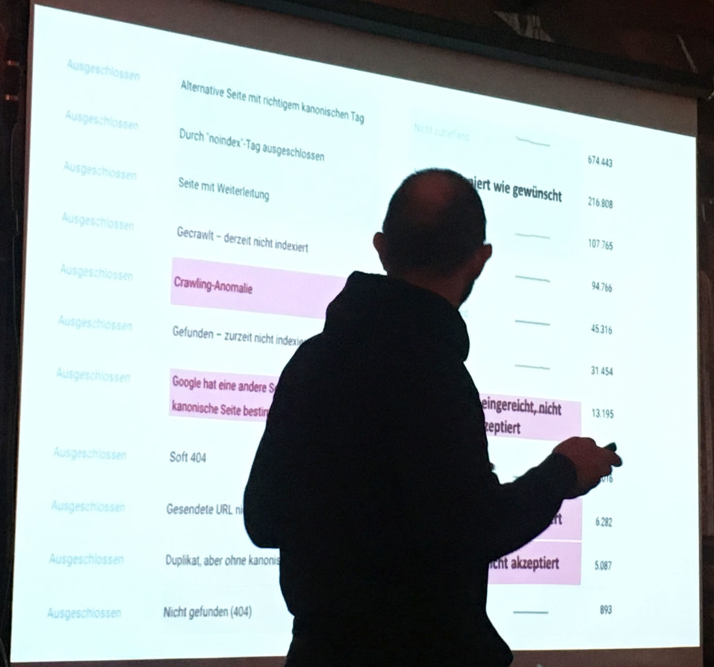 Richard zeigt die neue Search Console